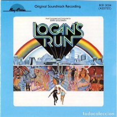 CDs de Música: LOGAN´S RUN / JERRY GOLDSMITH CD BSO - BAY CITIES. Lote 257743055