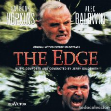 CDs de Música: THE EDGE / JERRY GOLDSMITH CD BSO. Lote 257743405