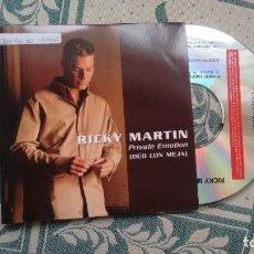 CDs de Música: CD-SINGLE ( PROMOCION) DE RICKY MARETIN (DÚO CON MEJA). Lote 257761605