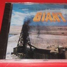 CDs de Música: GIANT / ORIGINAL SOUNDTRACK / GIGANTE / BANDA SONORA / DIMITRI TIOMKIN / CD / BSO PRECINTADO. Lote 257848480