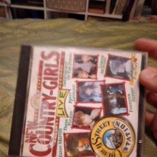 CDs de Música: G-74 CD MUSICA NEW CONTRY GILRS LIVE. Lote 257889395