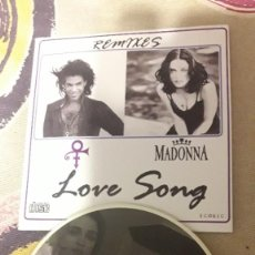 CDs de Música: MADONNA PRINCE THE SYMBOL MADAME X LOVE SONG 9 TRACKS REMIXES CD. Lote 257892320