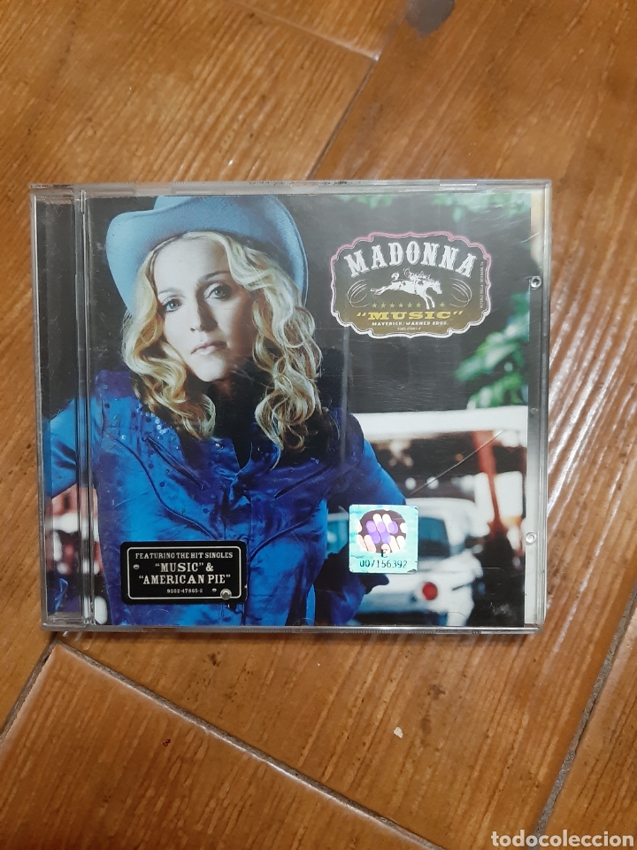 CD MADONNA (Música - CD's Pop)