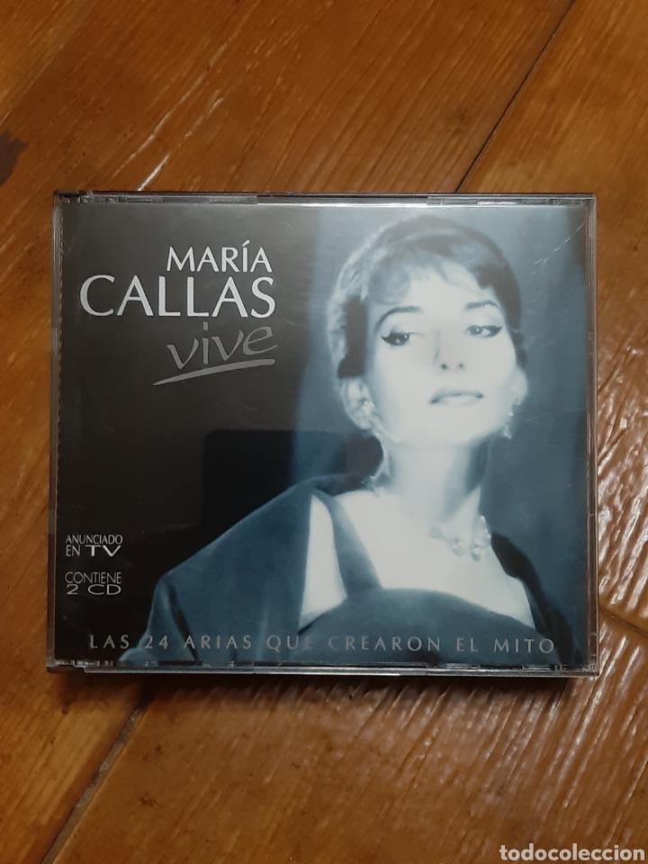 2 CD MARIAS CALAS (VIVE) (Música - CD's Clásica, Ópera, Zarzuela y Marchas)