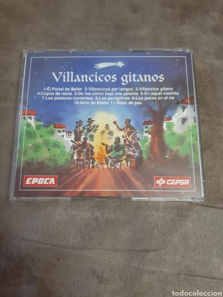 CDs de Música: Cd Villancicos Gitanos - Foto 2 - 257929005