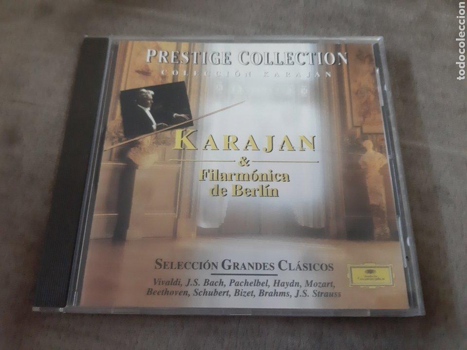 CD KARAJAN & FILARMÓNICA DE BERLÍN (Música - CD's Clásica, Ópera, Zarzuela y Marchas)