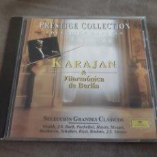 CDs de Música: CD KARAJAN & FILARMÓNICA DE BERLÍN. Lote 257931660