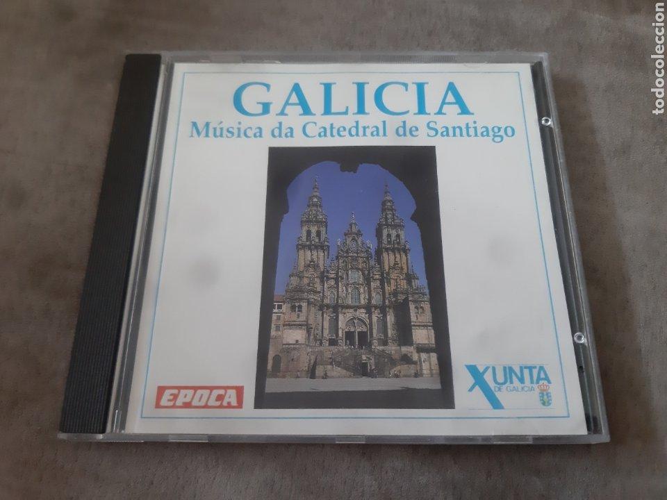 CD GALICIA MÚSICA DA CATEDRAL DE SANTIAGO (Música - CD's Clásica, Ópera, Zarzuela y Marchas)