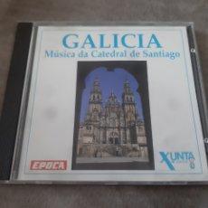 CDs de Música: CD GALICIA MÚSICA DA CATEDRAL DE SANTIAGO. Lote 257932145