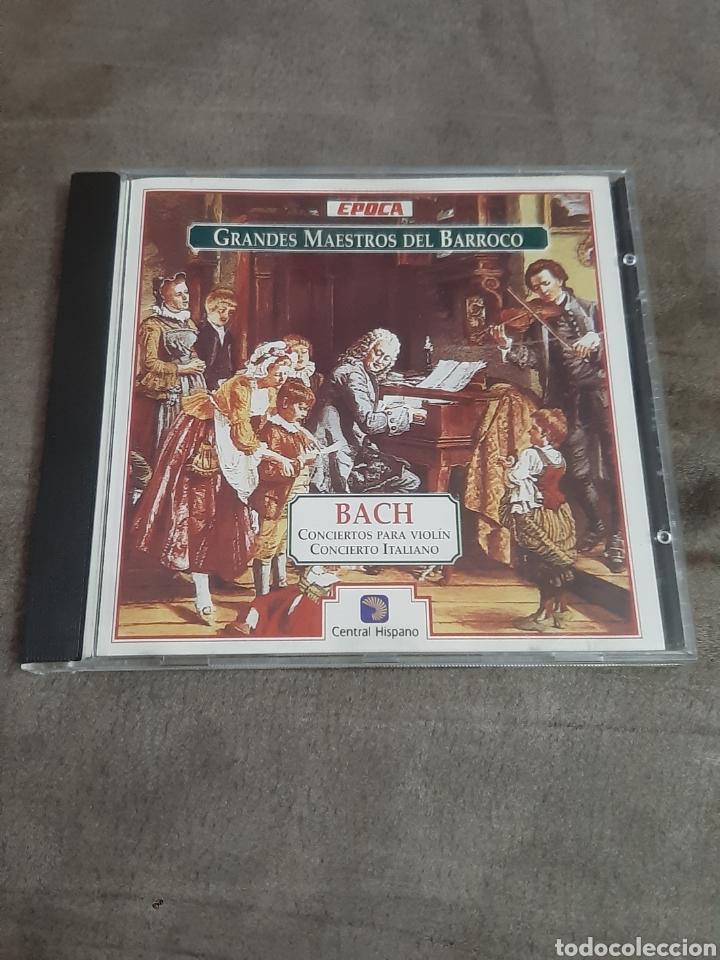 CD GRANDES MAESTROS DEL BARROCO (BACH) (Música - CD's Clásica, Ópera, Zarzuela y Marchas)