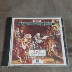 CDs de Música: CD GRANDES MAESTROS DEL BARROCO (BACH). Lote 257976270