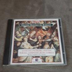 CDs de Música: CD GRANDES MAESTROS DEL BARROCO (PURCELL). Lote 257976540