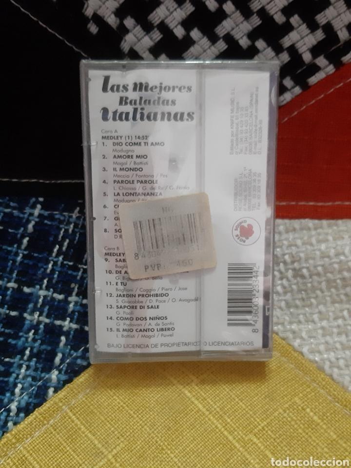 CDs de Música: Cassette Las Mejores Baladas Italianas (Precintado) - Foto 2 - 257992320