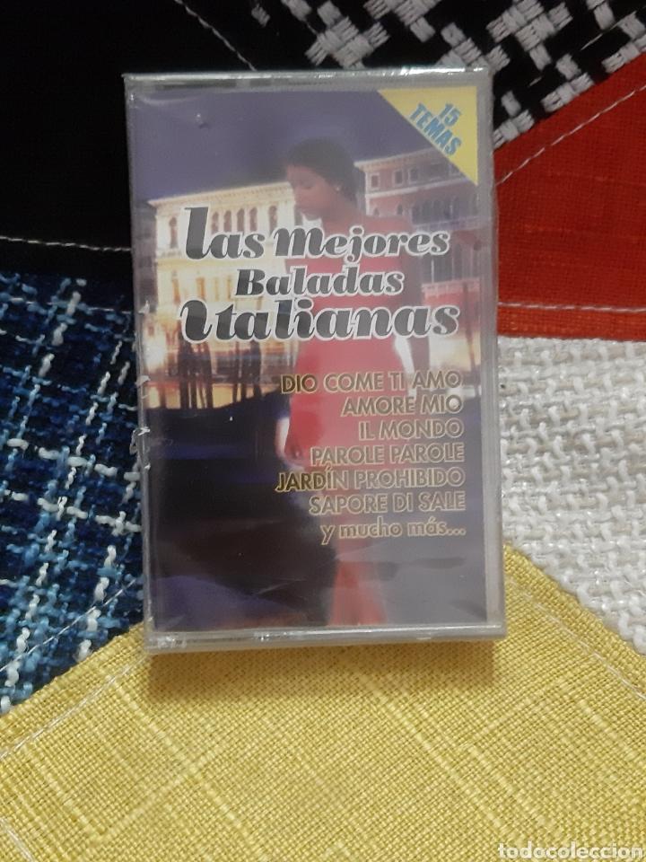 CASSETTE LAS MEJORES BALADAS ITALIANAS (PRECINTADO) (Música - CD's Melódica )
