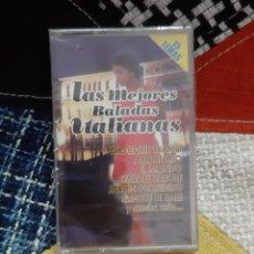 CDs de Música: CASSETTE LAS MEJORES BALADAS ITALIANAS (PRECINTADO). Lote 257992320
