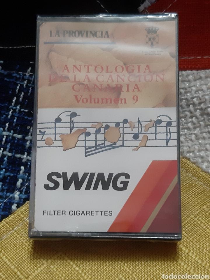 CASSETTE ANTOLOGIA DE LA CANCIÓN CANARIA (PRECINTADO) (Música - CD's Otros Estilos)