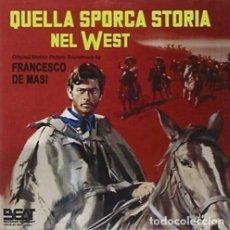 CDs de Música: QUELLA SPORCA STORIA NEL WEST / FRANCESCO DE MASI CD BSO. Lote 258066625