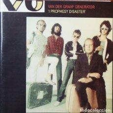CDs de Música: VAN DER GRAAF GENERATOR - I PROPHECY DISASTER (CD). Lote 258103760
