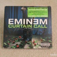 CDs de Música: CD EMINEM CURTAIN CALL THE HITS. Lote 258112410