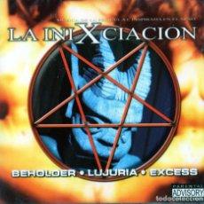 CDs de Música: BEHOLDER, LUJURIA, EXCESS - LA INIXCIACION. Lote 258168930