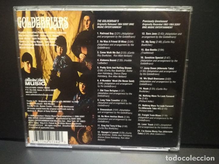 CDs de Música: THE GOLDEBRIARS THE GOLDEBRIARS CD UK 2006 Pepeto Top - Foto 2 - 258202315