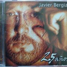 CDs de Música: JAVIER BERGIA - 25 AÑOS - NUEVO PRECINTADO - TAGOMAGO - ALBERTO PÉREZ. Lote 258216385