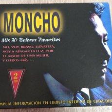 CDs de Musique: CD ORIGINAL DOBLE 2 CDS - MONCHO - MIS 30 BOLEROS FAVORITOS - NO, VOY, BRAVO, LLEVATELA. Lote 258247955