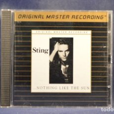 CDs de Música: STING - ...NOTHING LIKE THE SUN - CD. Lote 258252735