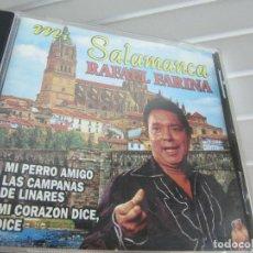 CDs de Música: MI SALAMANCA-RAFAEL FARINA-MI PERRO AMIGO..LAS CAMPANAS DE LINARES..MI CORAZON DICE DICE..CD RARO. Lote 258932905