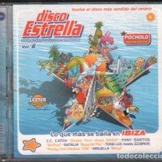 CDs de Música: DISCO ESTRELLA - VOLUMEN 6 / 60 EXITOS DEL VERANO / DOBLE CD 2003 / MUY BUEN ESTADO RF-9750. Lote 258968045