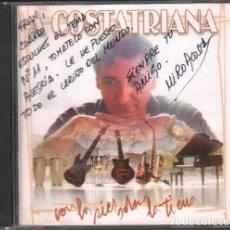 CDs de Música: A COSTATRIANA - CON LOS PIES SOBRE LA TIERRA / CD ALBUM DEL 2004 / CON DEDICATORIA RF-9759. Lote 258971155