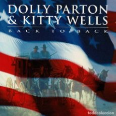 CDs de Música: DOLLY PARTON & KITTY WELLS - BACK TO BACK. CD. Lote 259030545