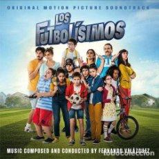 CDs de Música: LOS FUTBOLÍSIMOS / FERNANDO VELÁZQUEZ CD BSO. Lote 259040985