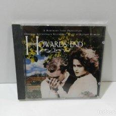 CDs de Musique: DISCO CD. RICHARD ROBBINS – HOWARDS END (ORIGINAL SOUNDTRACK RECORDING). COMPACT DISC.. Lote 259060325