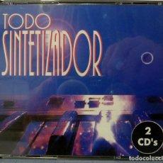 CDs de Música: TODO SINTETIZADOR (DOBLE CD). Lote 259055845