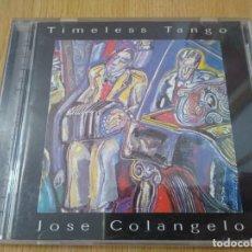 CDs de Música: JOSE COLANGELO -CD TIMELESS TANGO -TANGO ARGENTINO EN PIANO. Lote 259223565