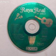 CDs de Música: CD RAYA REAL RUMBAS - GITANITO - ROMANTICO - POPURRIS - SOLO CD. Lote 259273985