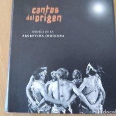 CDs de Música: CANTOS DEL ORIGEN -MUSICA DE LA ARGENTINA INDIGENA - 2 CDS-IMPORTADO DESCATALOGADO. Lote 259776875