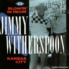 CDs de Música: JIMMY WITHERSPOON - BLOWIN' IN FROM KANSAS CITY - CD ALBUM - 20 TRACKS - ACE RECORDS - AÑO 1991. Lote 259784815