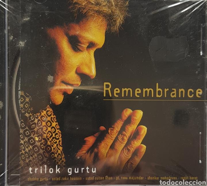 REMEMBRANCE TRILOK GURTU (Música - CD's World Music)