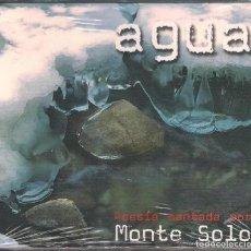 CDs de Música: MONTE SOLO - AGUA. POESÍA CANTADA POR MONTE SOLO. CD PRODUCCIONES SIN/CON PASIONES 2007 NUEVO PREC.. Lote 260053285