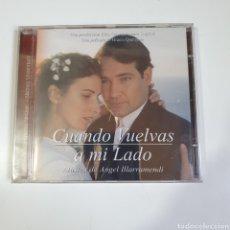 CDs de Música: CD, BANDA SONORA, ORIGINAL, CUANDO VUELVAS A MI LADO, MÚSICA DE ANGEL ILLARRAMENDI, NUEVO PRECINTADO. Lote 260084595