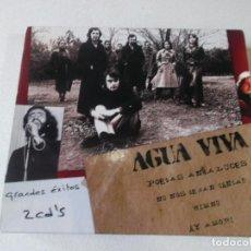 CDs de Música: AGUA VIVA, GRANDES EXITOS, 2 CDS, MIRAR FOTOS. Lote 260313850