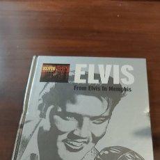 CDs de Música: ELVIS PRESLEY FROM ELVIS IN MEMPHIS CD LIBRO COLECCION EL MUNDO Nº 1 30 PAGINAS CON FOTOS. Lote 260317275