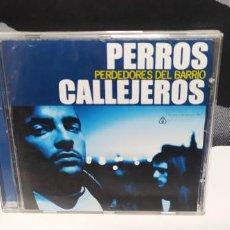 CDs de Musique: PERROS CALLEJEROS - PERDEDORES DEL BARRIO BUEN ESTADO DIFICIL 2005. Lote 260332510