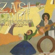 CDs de Música: ZAS! CANDIL / DE LAS CUEVAS - CD DIGIPACK Y LIBRETO 16 PAG. (2015) - FOLK CASTILLA-LA MANCHA CUENCA. Lote 260338710