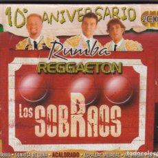 CDs de Música: LOS SOBRAOS 10º ANIVERSARIO - 2 CDS- CD´S -- PRECINTADO. Lote 260369035