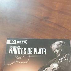 CDs de Música: MANITAS DE PLATA FLAMENCO 2 CDS EXITOS. Lote 260496065