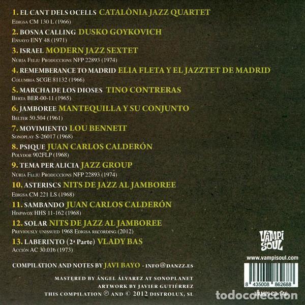 CDs de Música: FETEN - Rare Jazz Recording from Spain 1961-1974 - Foto 2 - 260520775