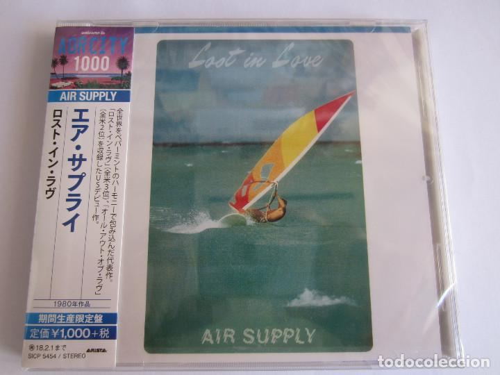 CDs de Música: AIR SUPPLY - LOTE 2 (LOST IN LOVE + THE ONE THAT YOU LOVE) 2017 JAPAN CD - Foto 3 - 121854635